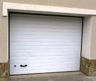 Секционные гаражные ворота Дорхан (пружинное управление) 2500мм х 2115мм