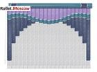 Мультифактурные шторы-жалюзи из пластика и ткани. Модель 25