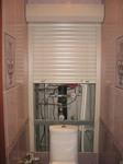 Рулонные шторы в туалет (сантехнические) 750х1400 мм