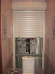 Рольставни (роллеты) в туалет (сантехнические) 600х1200 мм